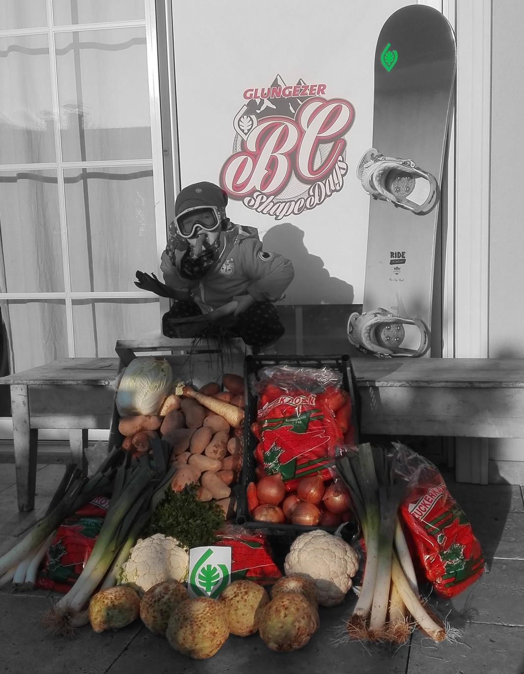 Suppengemüse für die Boys - Foto: Glungezerparks