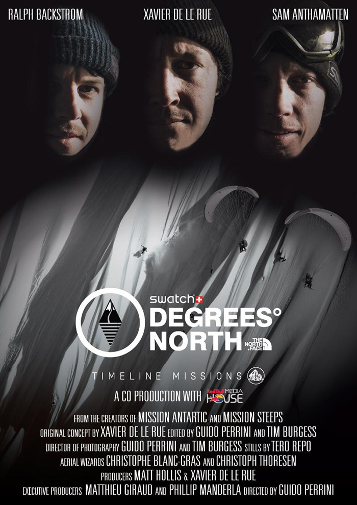 Degrees North Poster