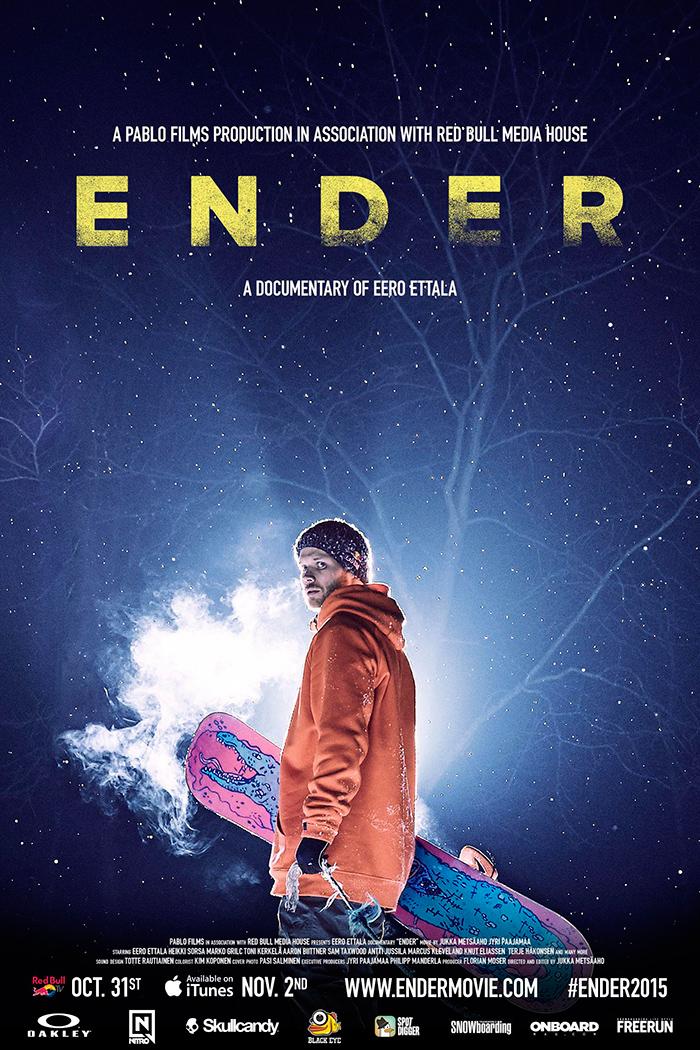 Ender Poster - Eero Ettala