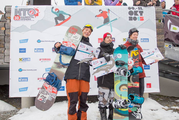 Kaunertal Pro Contest 2015 - Men