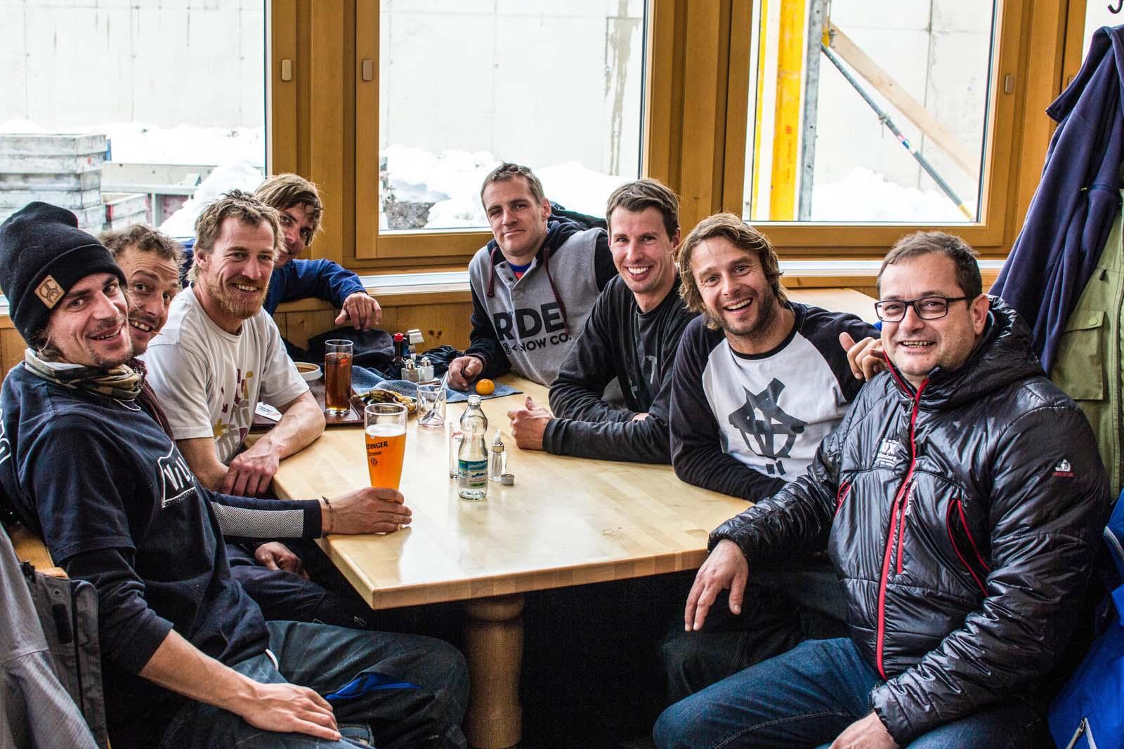 Zillertal Välley Rälley hosted by Ride Snowboards 2015 / 2016 - Die Ästhetiker Crew - Foto: Albert Binnekade
