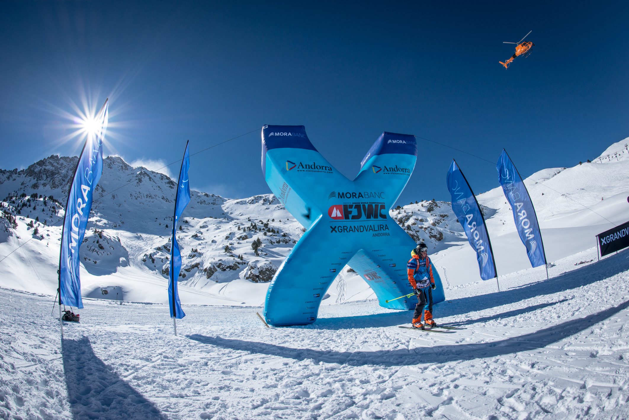 Freeride-Juniorenweltmeisterschaft 2016 in Grandvalira (Andorra) - Foto: : freerideworldtour.com / David Carlier