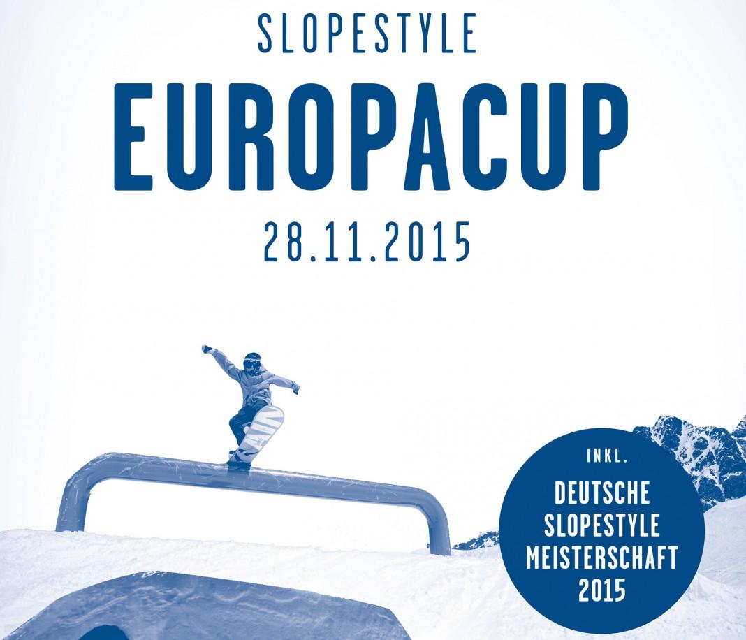 Europacup & Deutsche Meisterschaft - Snowpark Kaunertal