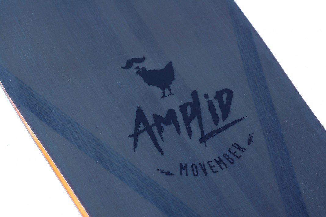 Amplid x Movember - Limited Snowboards