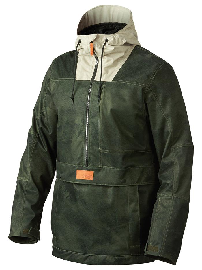 Pioneer Biozone Shell P/O Jacket - Oakley