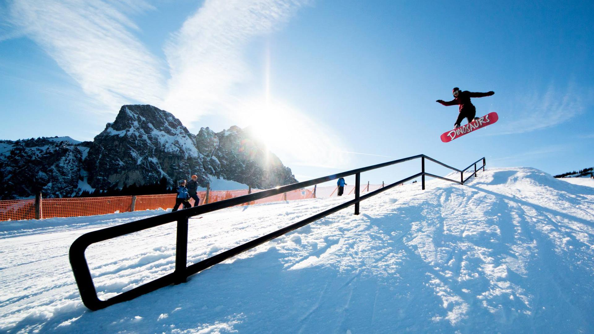 Kein Crown Woods Snowpark mehr am Breiteinberg - Foto: facebook.com/snowparkcrownwoods