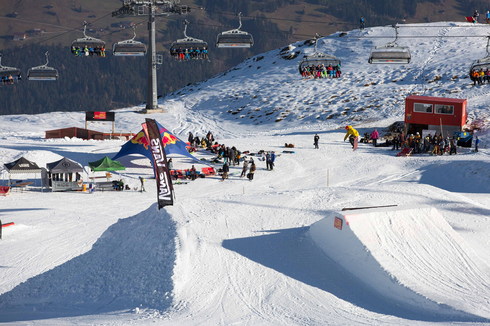 Zillertal VÄLLEY RÄLLEY hosted by Ride Snowboards 2015 / 2016 - Foto: Roland Tscholder