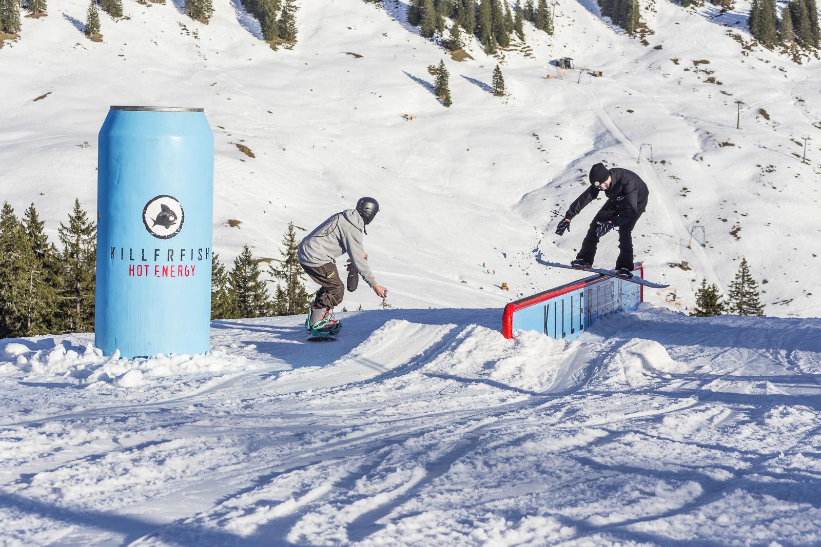 Blue Tomato Season Opener Grasgehren #6 - Foto: Snowpark Grasgehren
