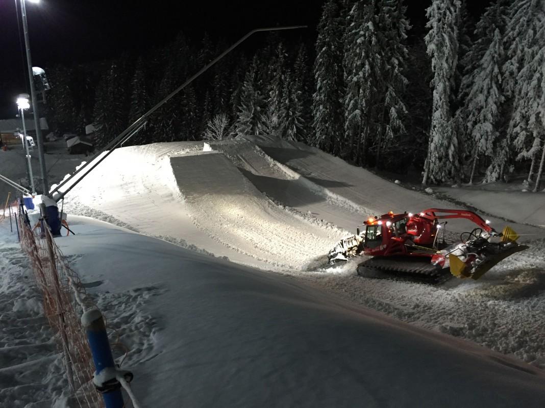 Neuer Snowpark am Götschen in Berchtesgaden