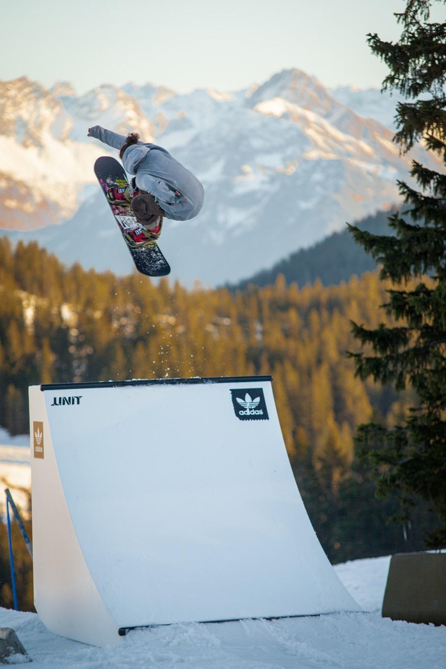 World Snowboard Day at Snowpark Grasgehren - Die neue adidas Quarter - Foto: Snowpark Grasgehren