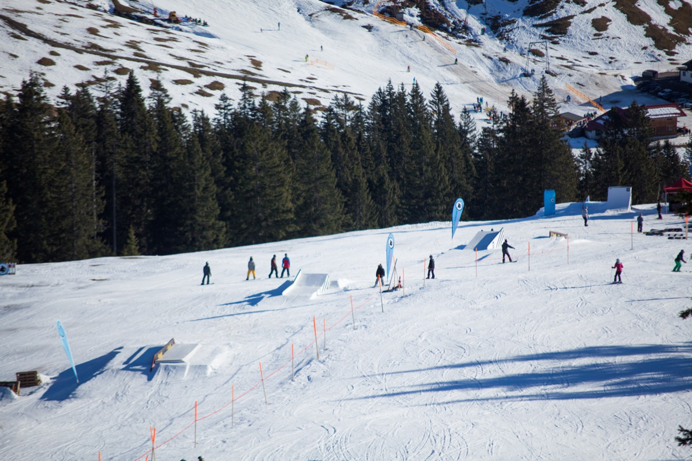 WSD at Snowpark Grasgehren - Overview - Foto: Snowpark Grasgehren