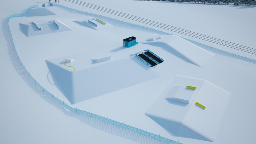 Neuer Snowpark im Skigebiet Sudelfeld