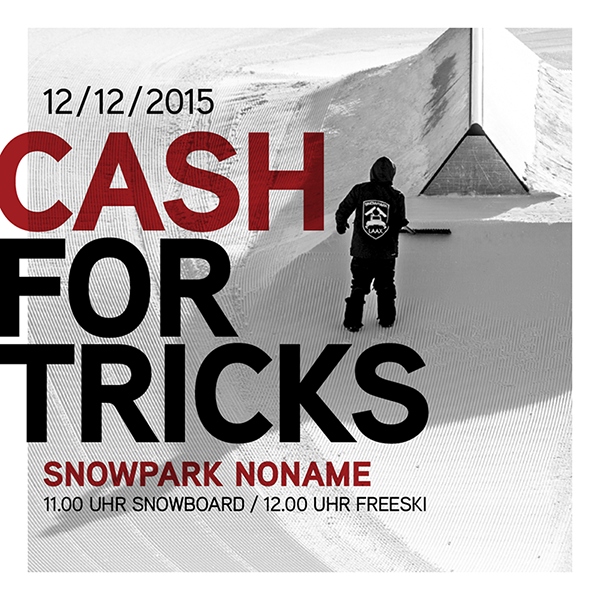 Snowpark Laax - Season Kick-Off - Cash For Tricks Session