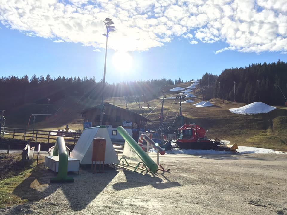 Neuer Snowpark am Götschen in Berchtesgaden – Die Jib Obstacles stammen von IOU Ramps