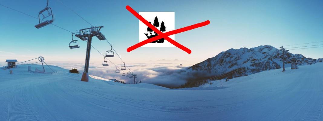 Kein Corwn Woods Snowpark mehr am Breiteinberg - Foto: facebook.com/snowparkcrownwoods