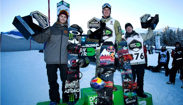 DEW Tour 2015 - Men Slopestyle Podium