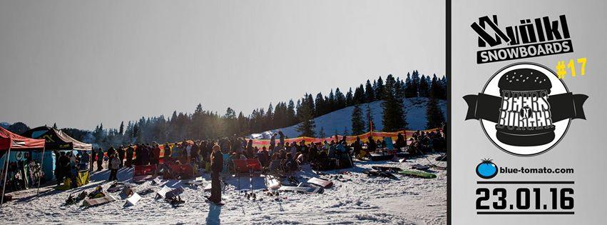 Völkl Snowboard Beers'N'Burgers Session #17 - Grasgehren