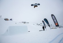 2. Tourstop Zillertal Arena - Snowpark Gerlos - Rider: Arthur König Paulie - Foto: Matt McHattie