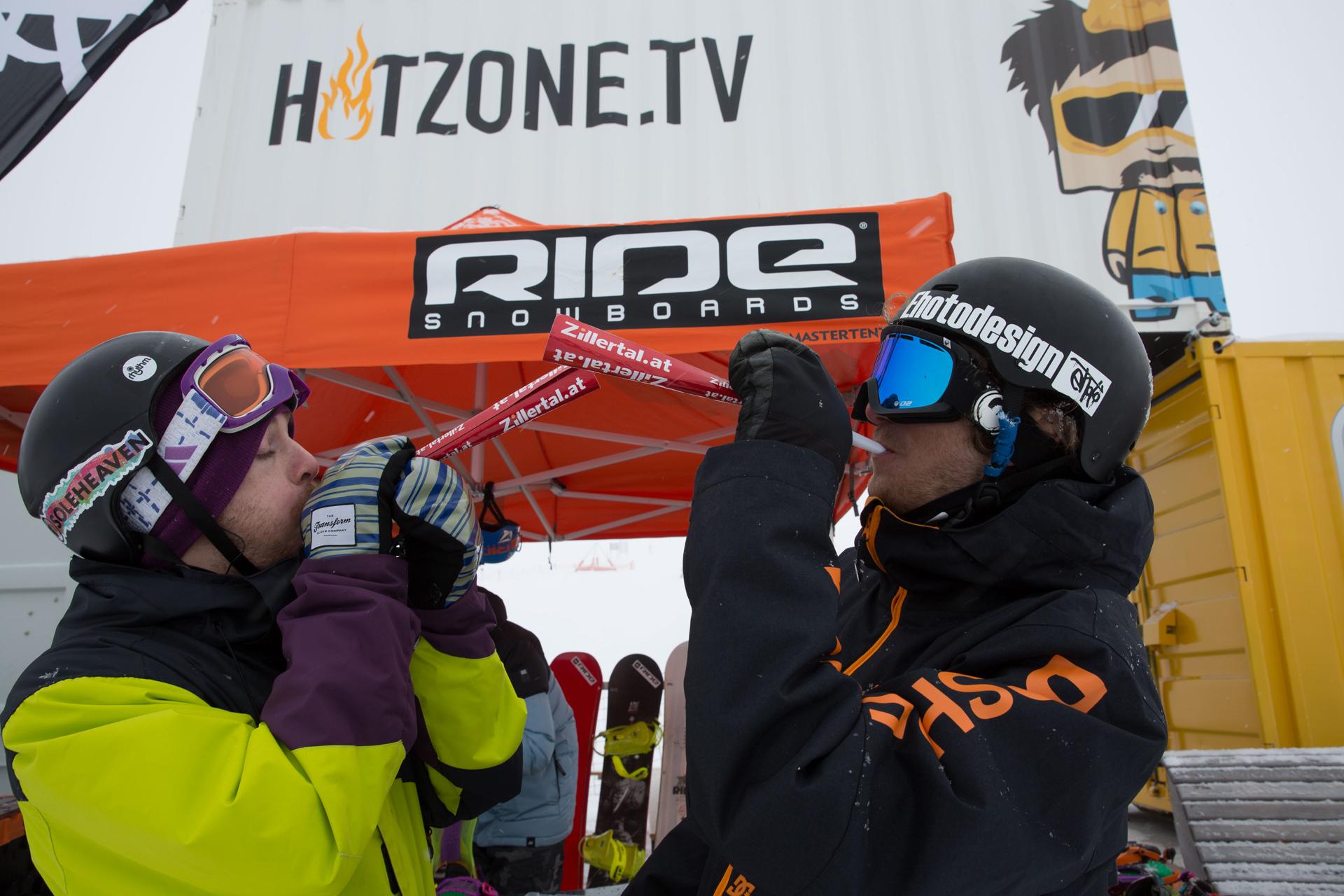 2. Tourstop Zillertal Arena - Snowpark Gerlos - Foto: Matt McHattie