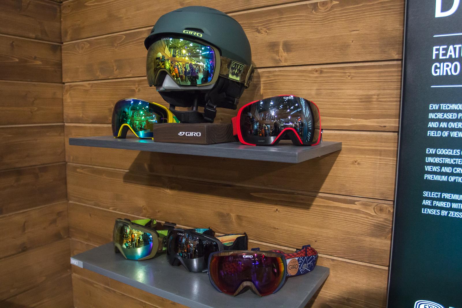 Sehen nicht nur schick aus, sondern bieten auch jede Menge Funktionen: Die neuen Giro Helmets und Goggles