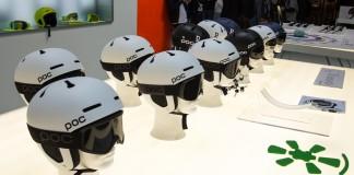 Die neuen POC Auric Pro Helmets mit verbessertem Schutz für Ohren und Schläfe. Goggles: Retina Big mit Zeiss Optik