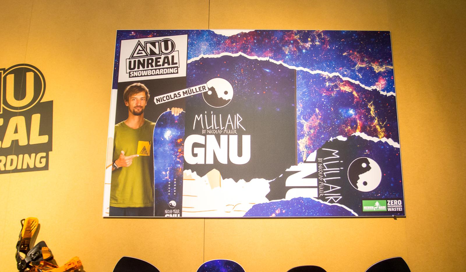 Nicolas Müller mit seinem neuen GNU Pro Model