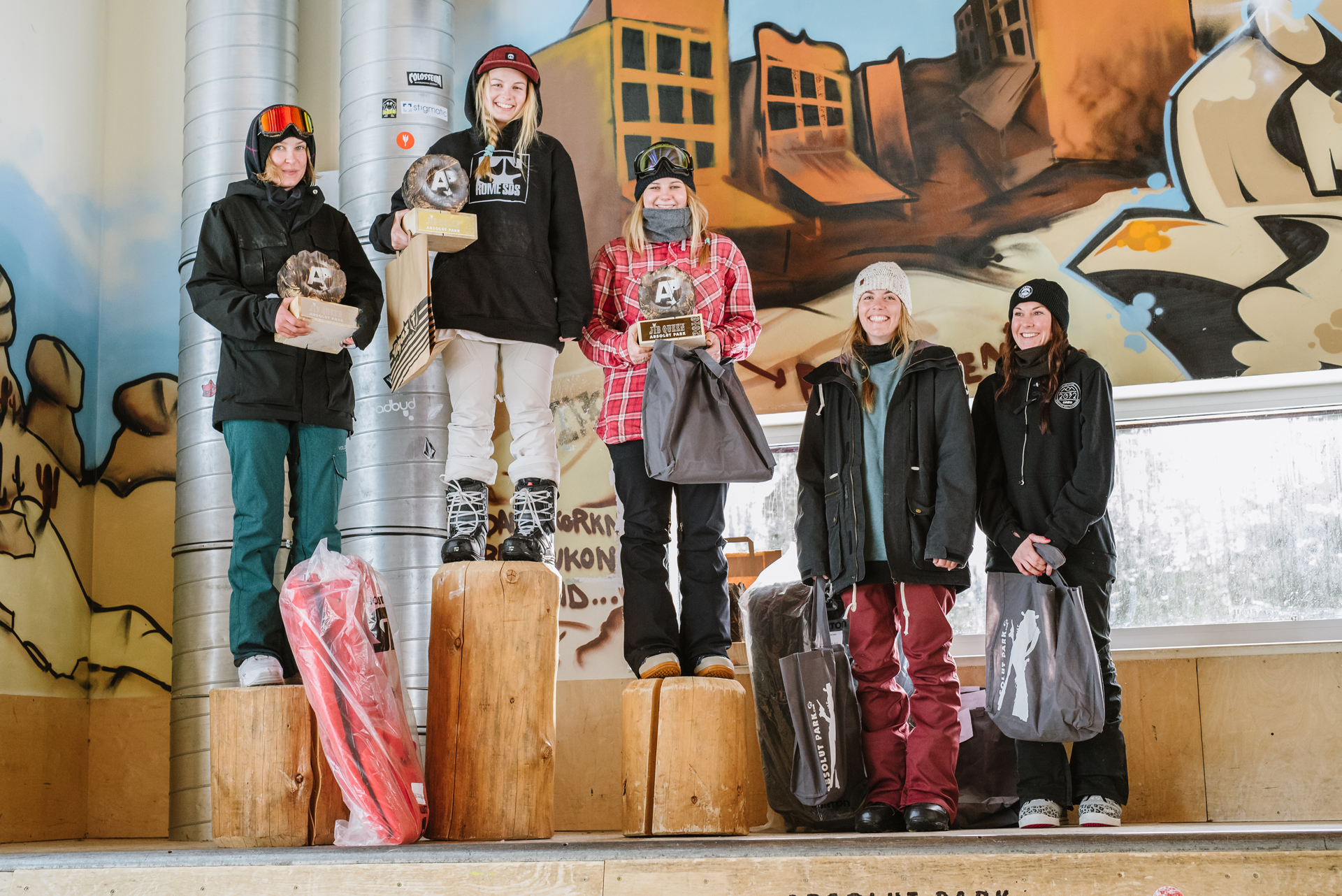 Jib King 2016 - Podium Girls - Foto: Absolut Park