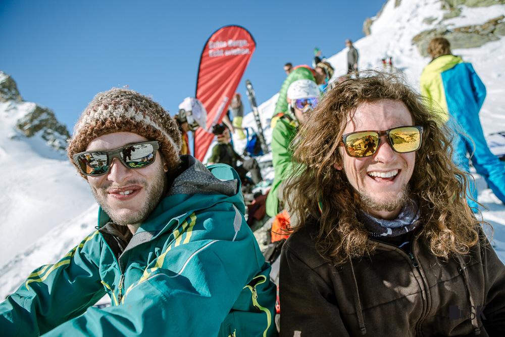 Bei den perfekten Bedingungen herrschte natürlich allerbeste Laune bei allen Anwesenden - Foto: Stefan Kothner