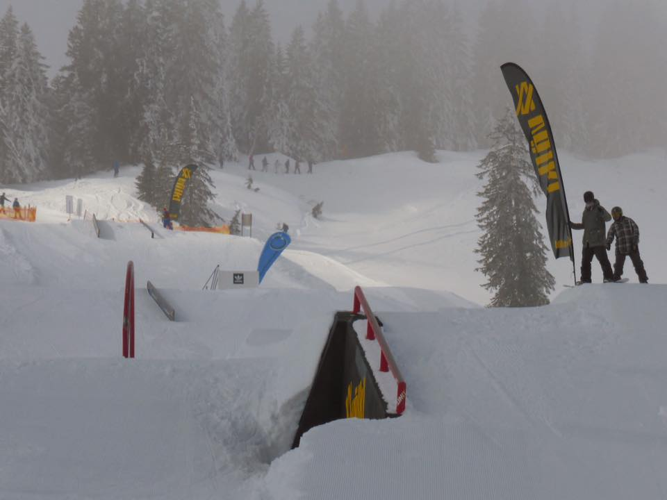Snowpark Grasgehren - Park Overview Part 2