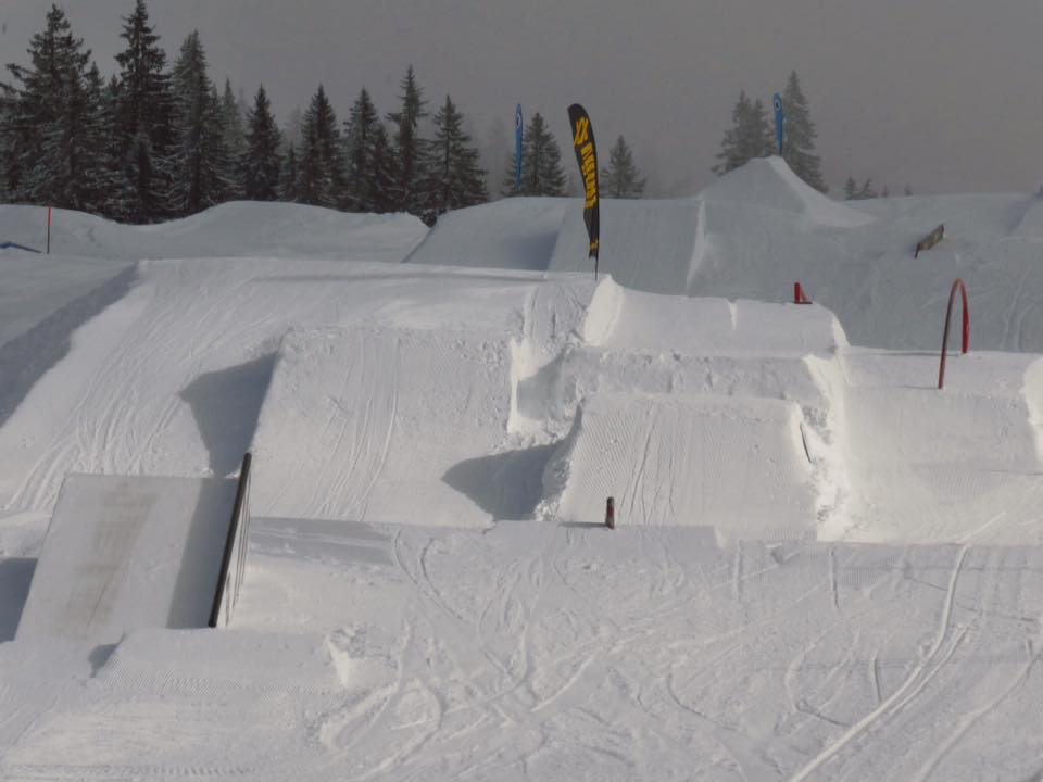 Snowpark Grasgehren - Park Overview Part 1