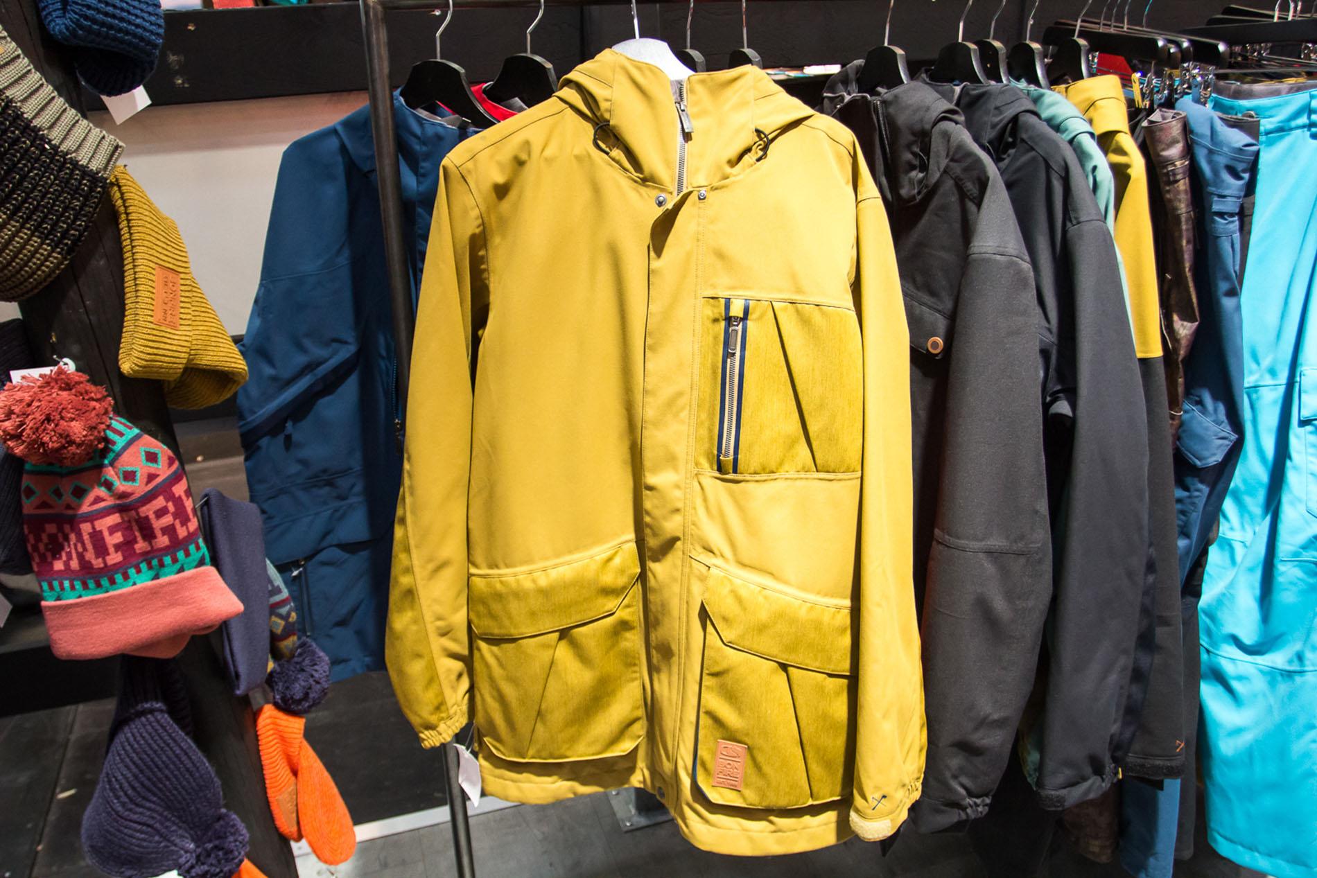 Beacon Jacket in Cumin