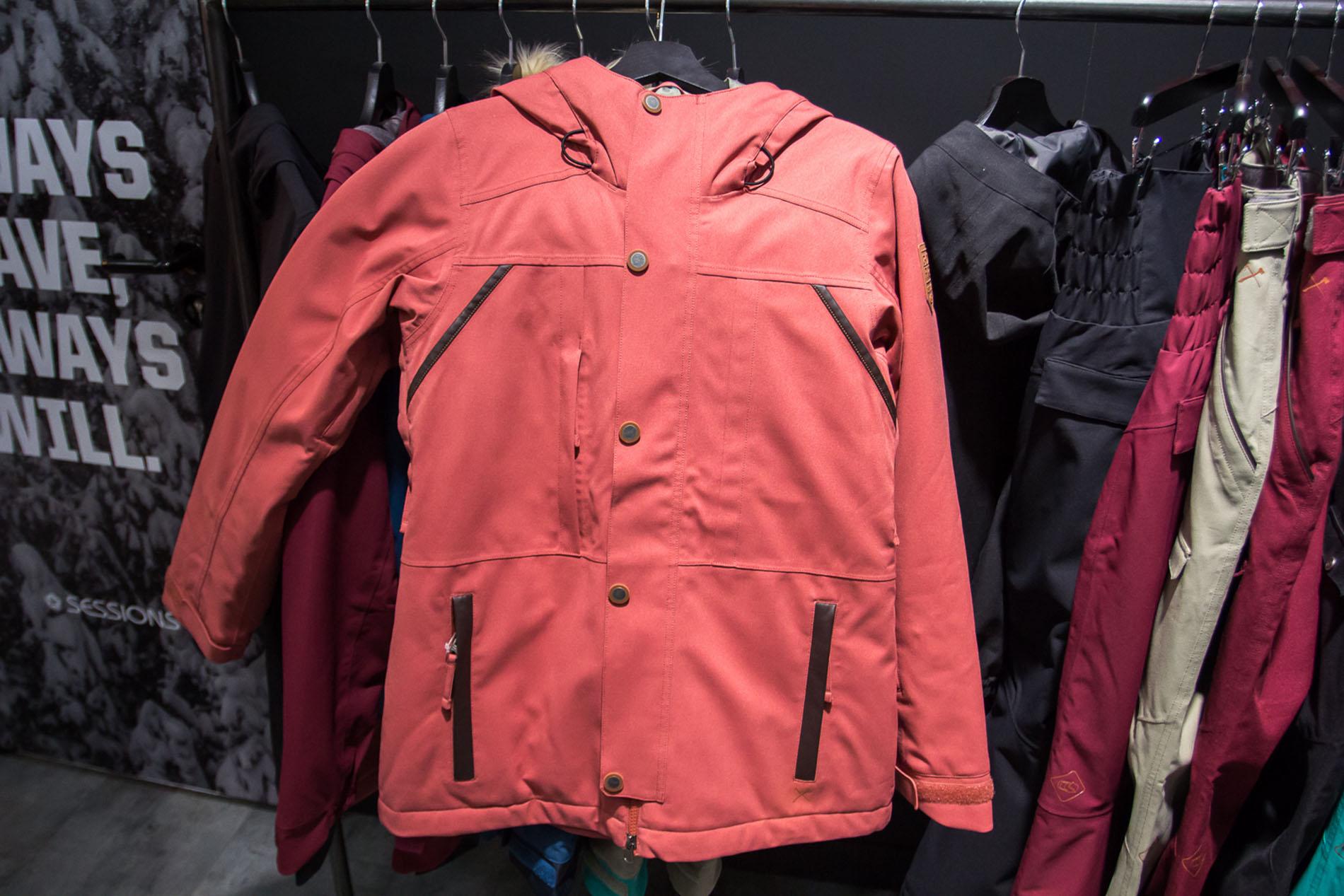 Womens Safari Jacket in Dark Blush