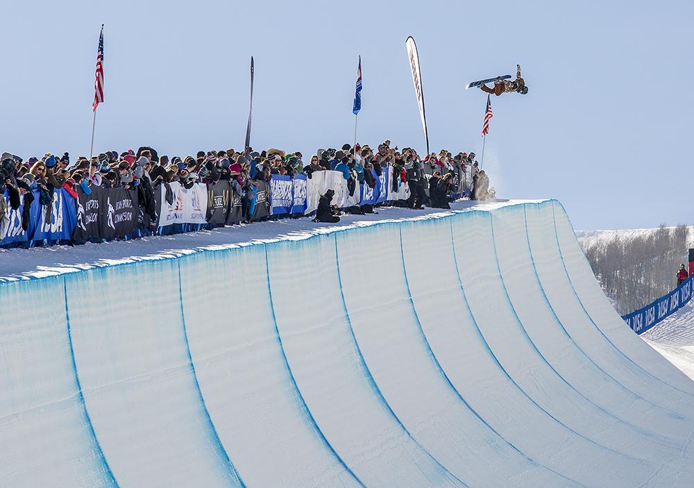 Chloe Kim   Park City   U.S. Snowboarding Grand Prix