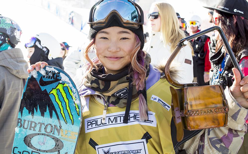 Chloe Kim | Park City | U.S. Snowboarding Grand Prix