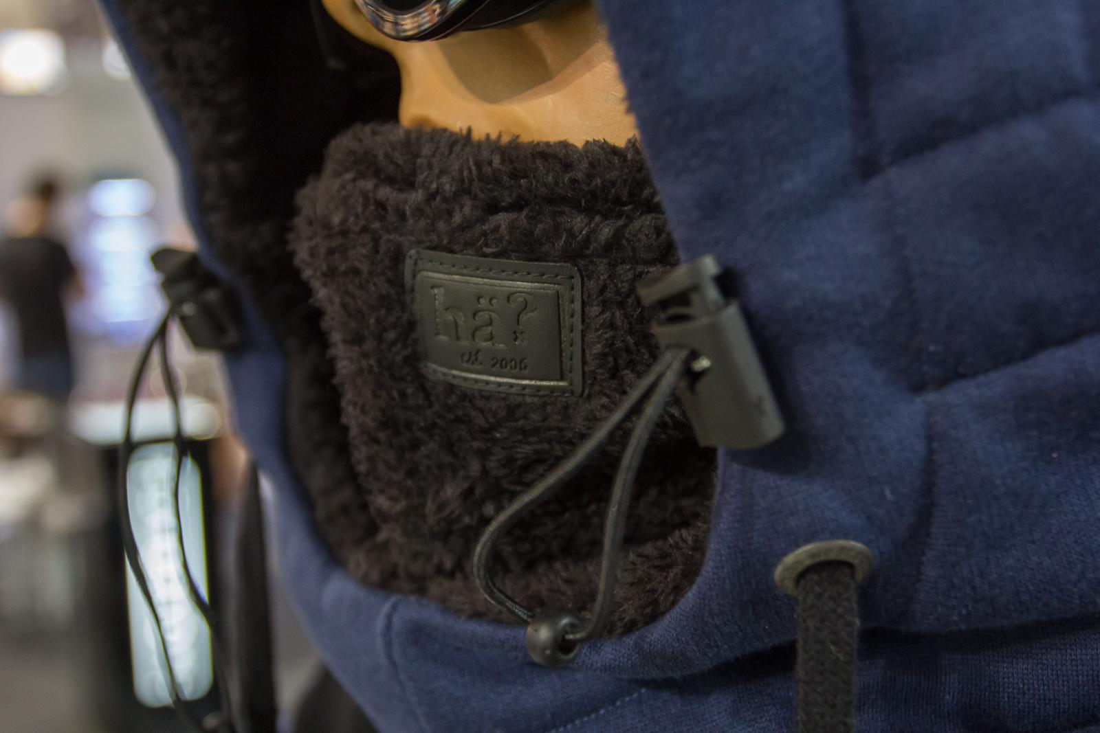 Dezent platzierte Lederpatches und elastisches Schnürsystem für individuelle Einstellung