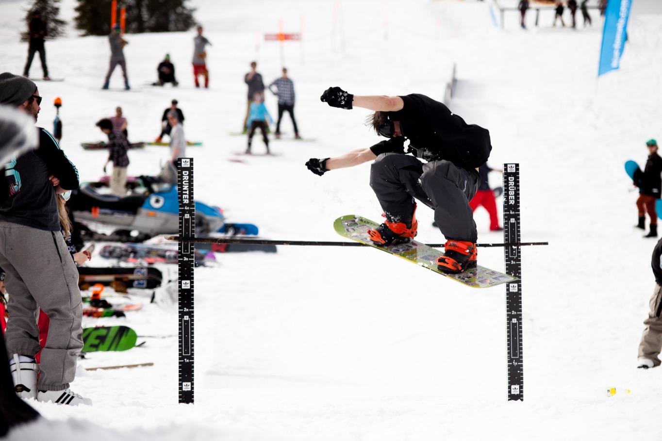 Alex Schlund mit dem höchsten Olli des Tages! - Foto: David Lis