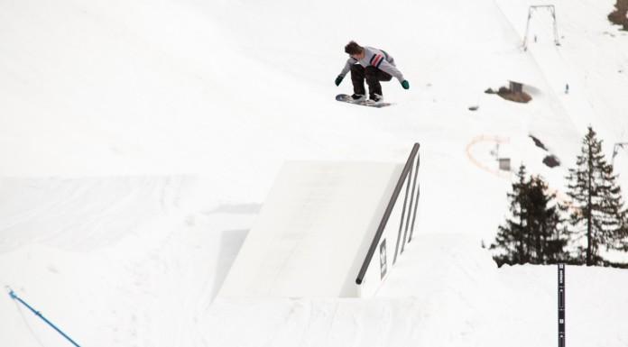 """adidas Snowboarding presents """"Drüber/Drunter"""" - Snowpark Grasgehren - Foto: David Lis"""