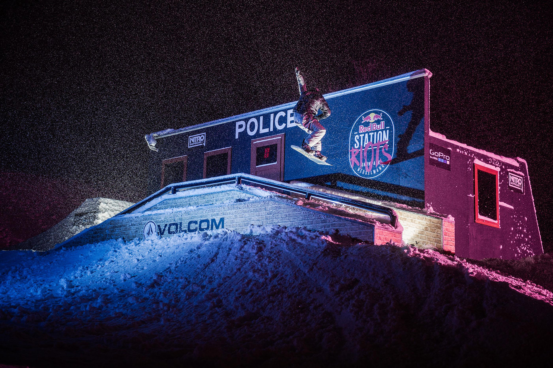Elio Fumagalli an der Police Station - Foto: Marcel Laemmerhirt