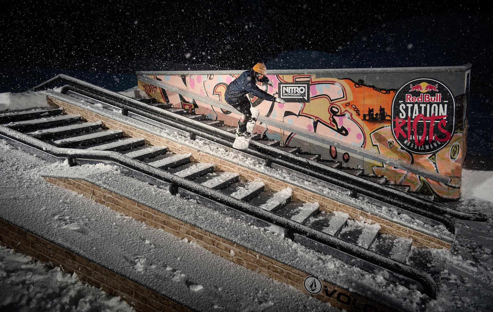 Der Gewinner der Station Riots: Kevin Trammer - Foto: Marcel Laemmerhirt