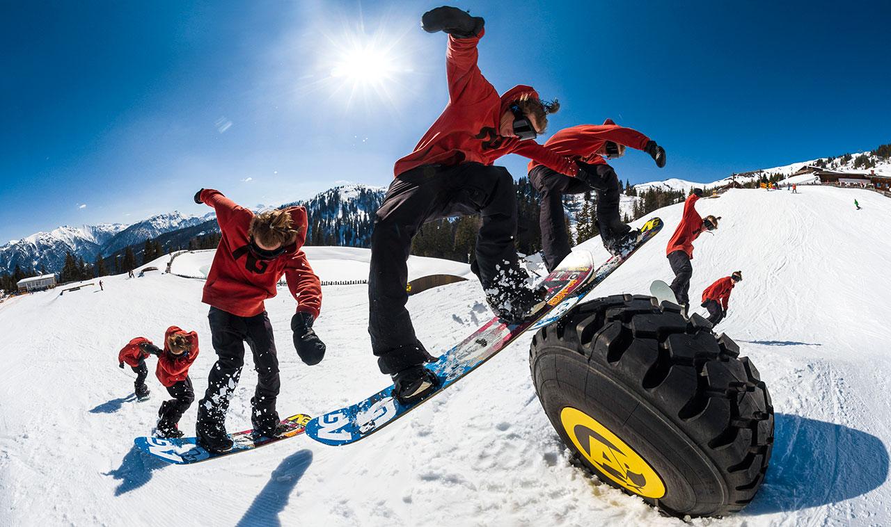 Prime Snowboarding Magazine Nachwuchsfahrer Max Zebe Absolut Park