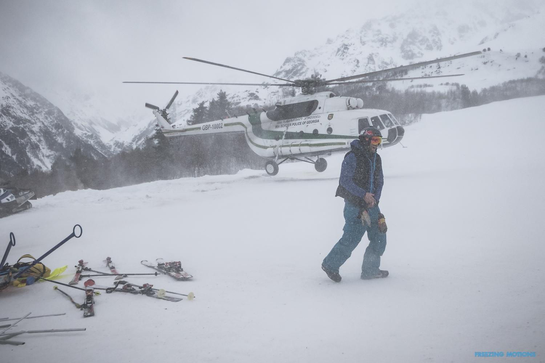 ... da kommt auch der Premier mit dem Heli mal vorbei - Foto: Klaus Listl