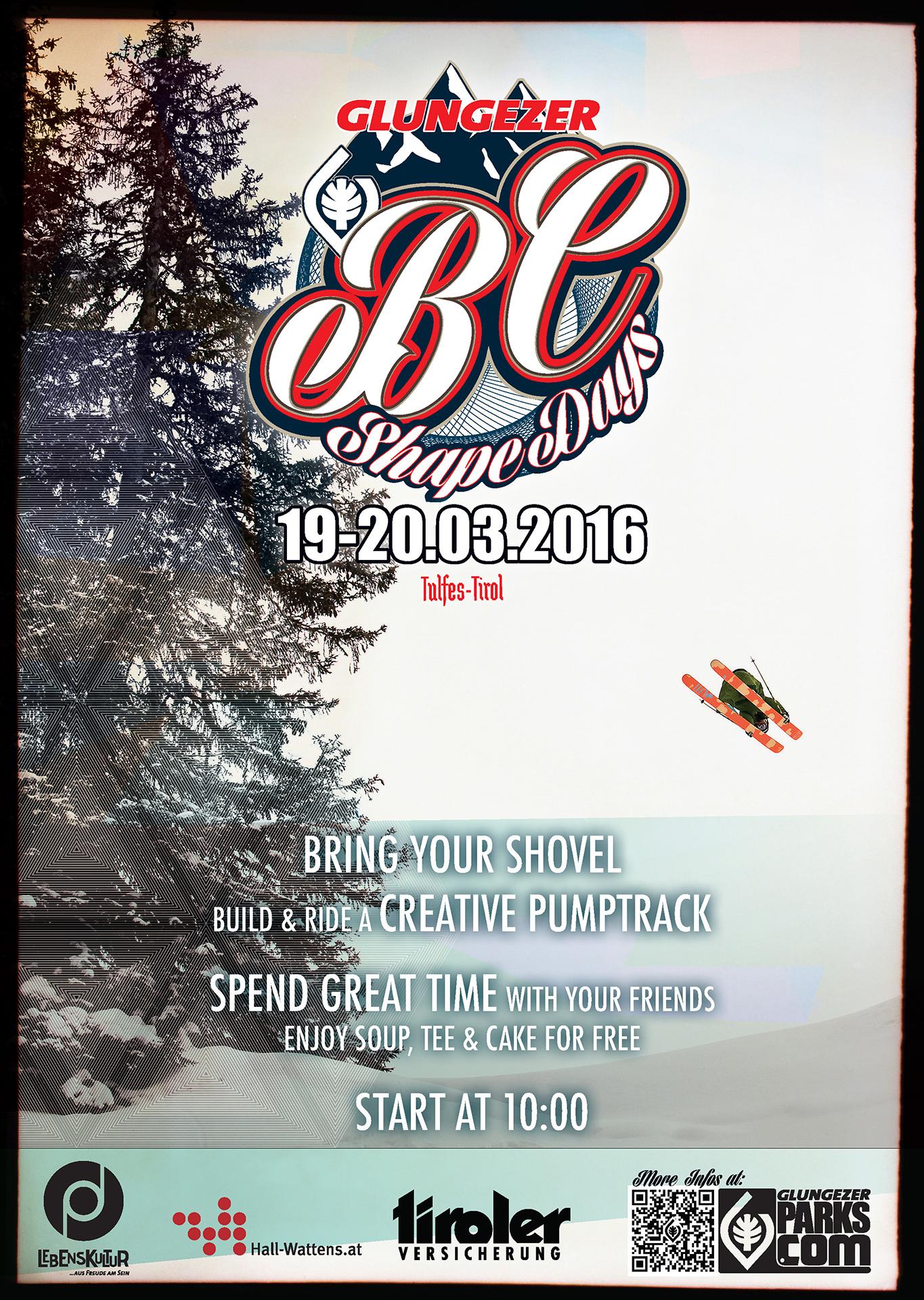 Glungezer BC Shape Days - Flyer