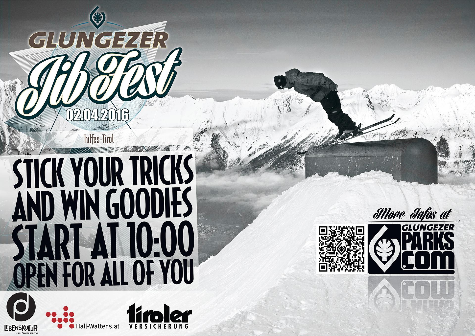 Glungezer JIB Fest 2016 - Flyer