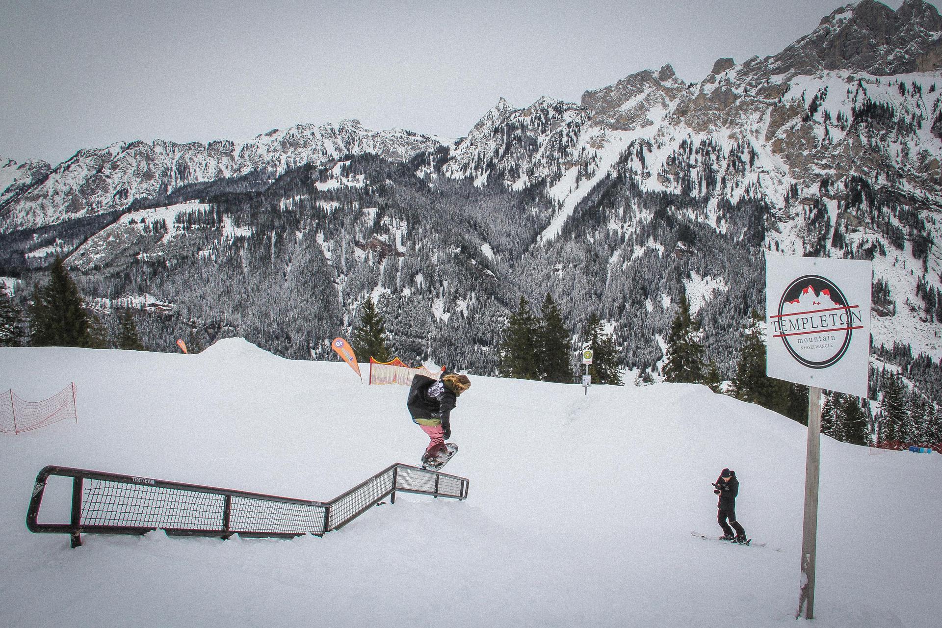 Neuer Snowpark in Nesselwängle (Tannheimer Tal) - Golden Groves - Foto: Michael Dörfler