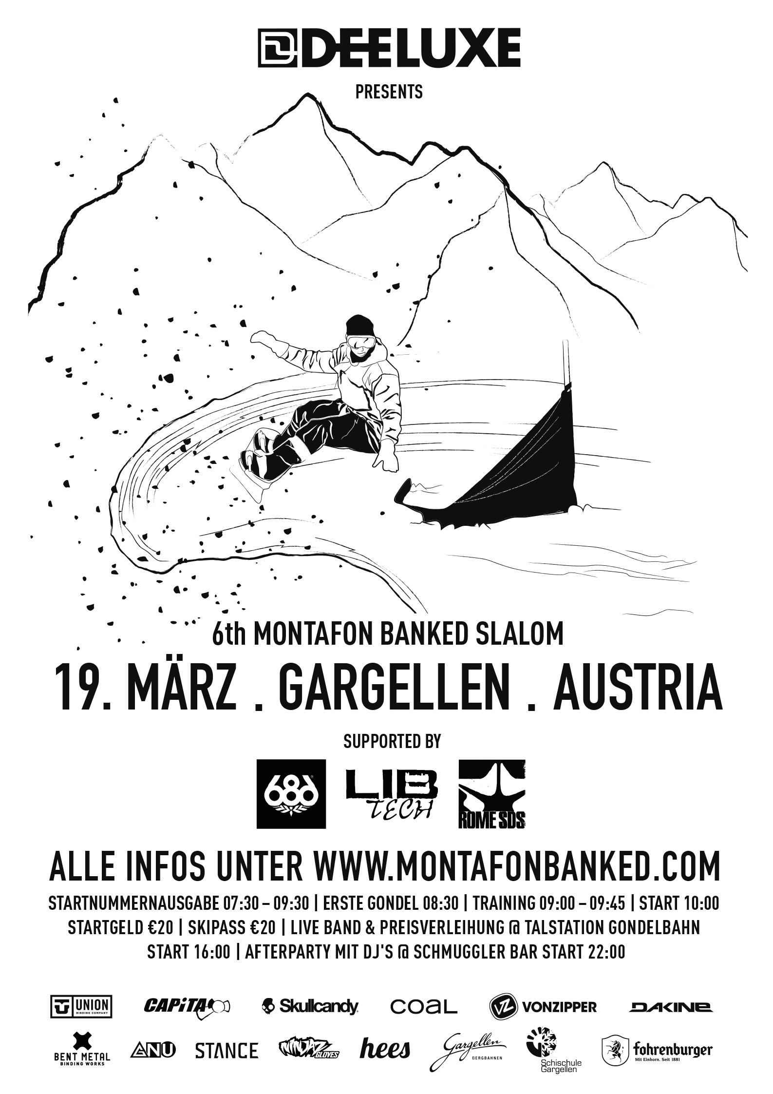 Montafon Banked Slalom 2016 - Flyer