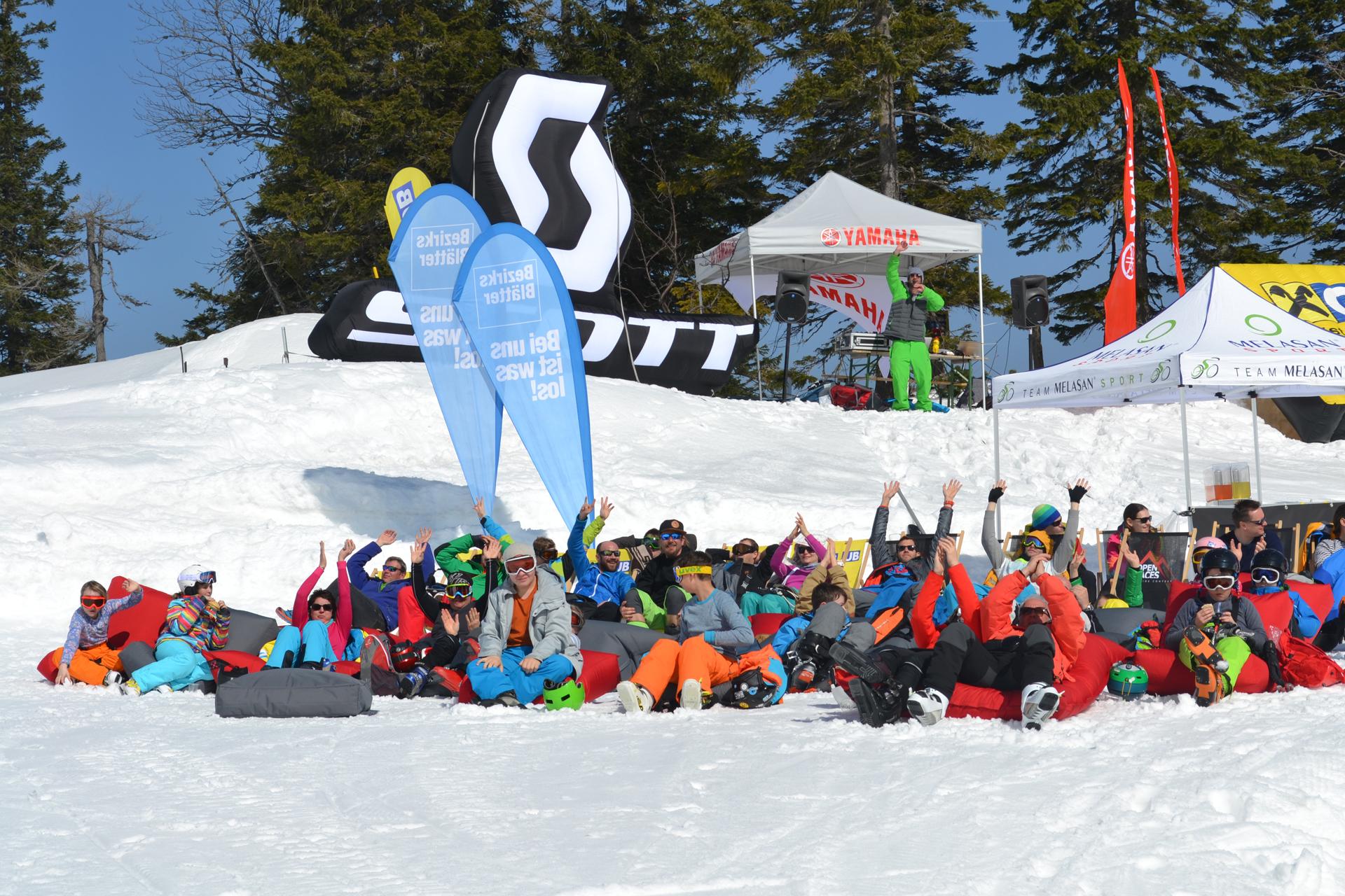 Die Crowd konnte den Contest bei bestem Wetter gemütlich verfolgen - Foto: smpr.at