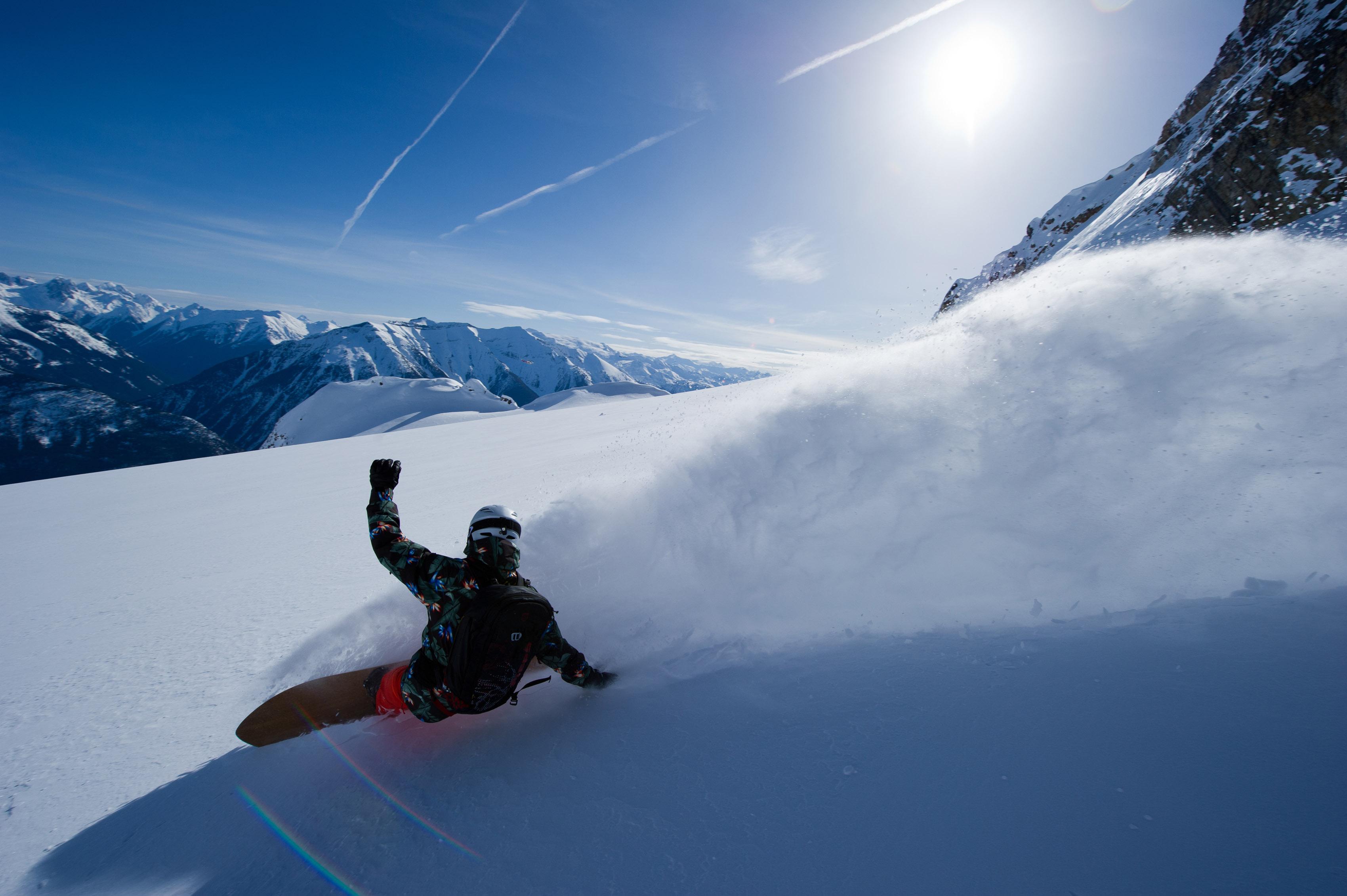 Prime Snowboarding Blue Tomato POW