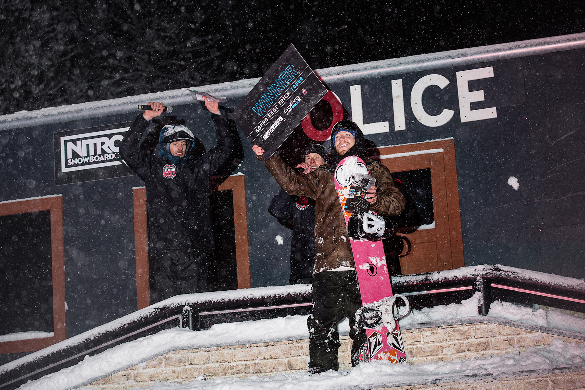 Rider des kriminellsten Tricks an der Police Station: Dylan Alito - Foto: Red Bull Content Pool