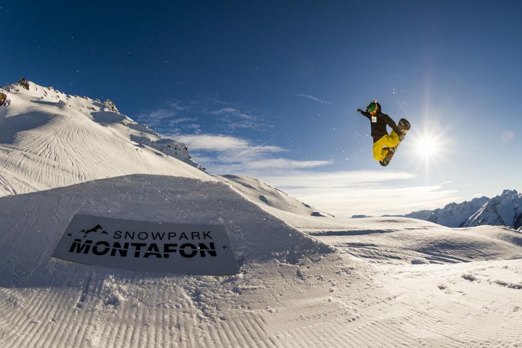 Snowpark Montafon - Foto: Cyril Müller