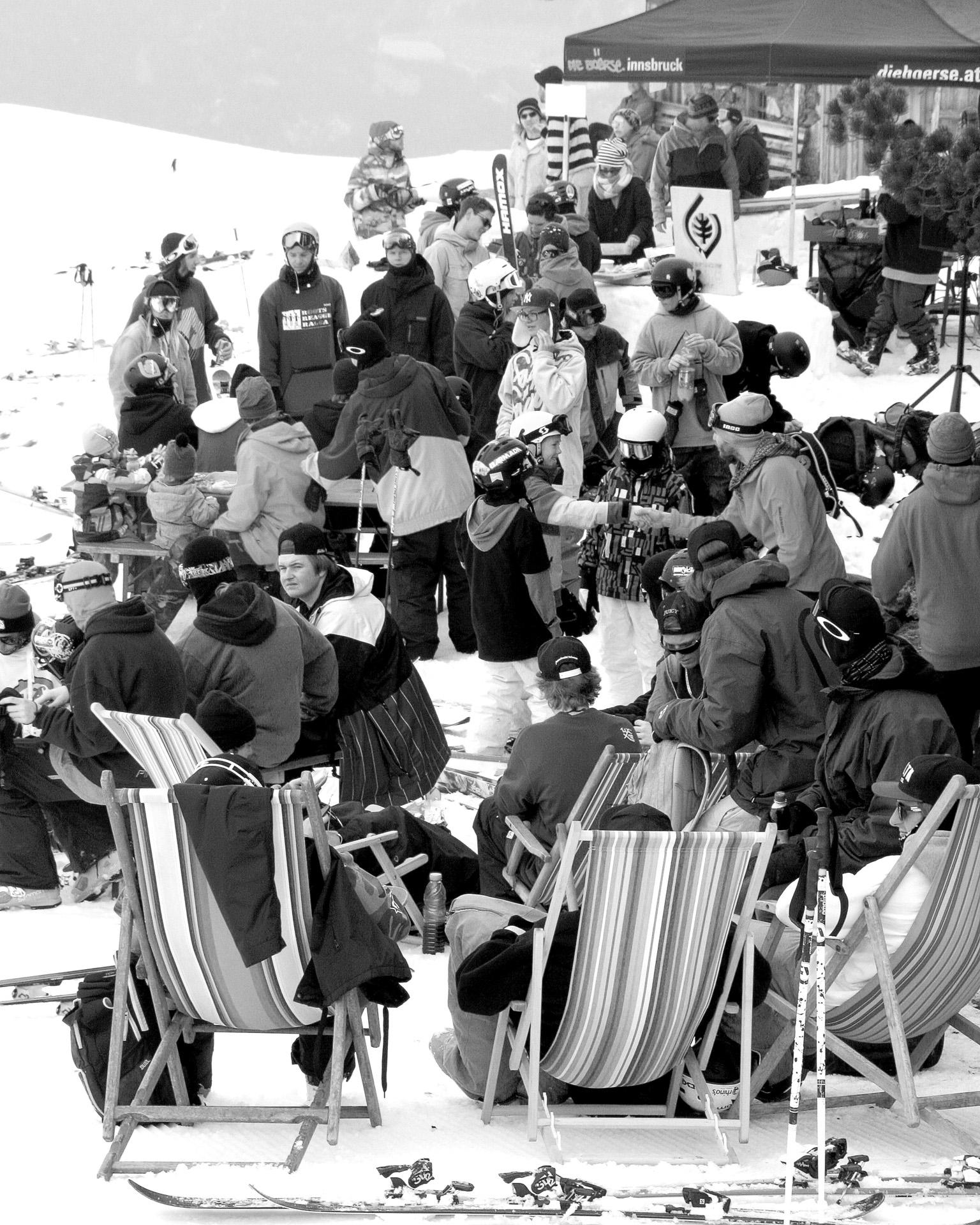 Entspannte Atmosphäre mit den richtigen Vibes warten während den Events auf Euch - Foto: Glungezerparks